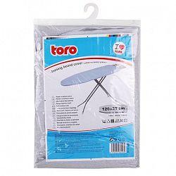 TORO Poťah na žehliacu dosku TORO 120x38cm nepriľnavý