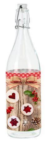 TORO Sklenená fľaša s patentným uzáverom TORO 0,5l linecké