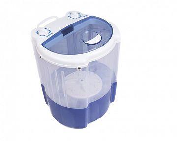 Kempingová mini práčka s odstredivkou/žmýkaním – recenzie