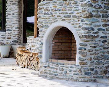 Záhradný krb z tehly alebo ytongu – návrh, hĺbka základu pod záhradný krb, stavba
