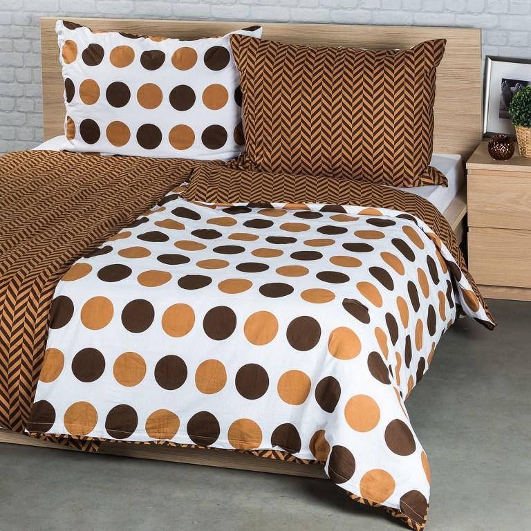 4Home Bavlnené obliečky Kiko, 220 x 200 cm, 2 ks 70 x 90 cm