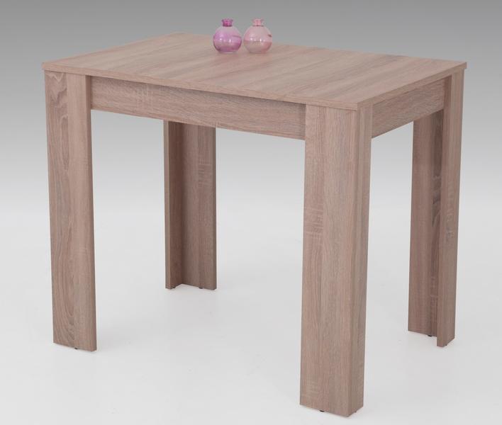 abb3de905d52e Jedálenský stôl Eva, 90x60 cm, dub sonoma, rozkladací   TopByvanie.sk