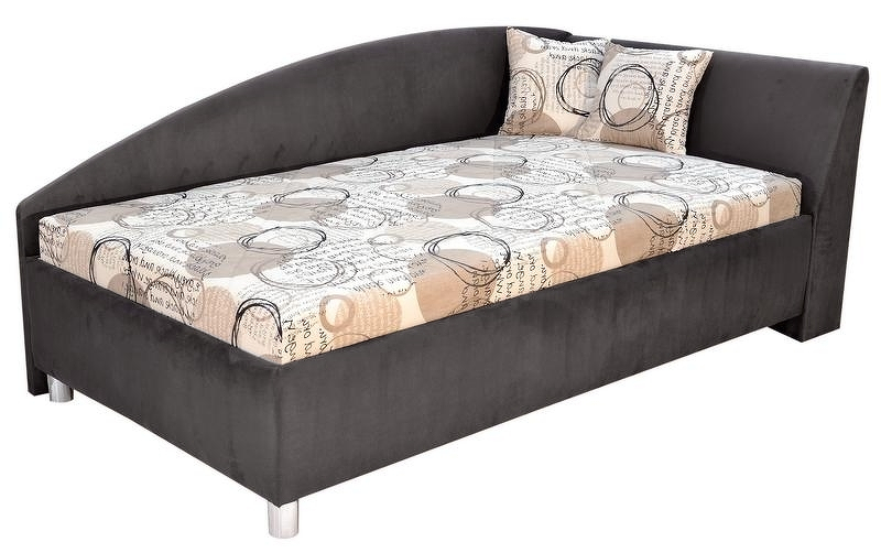 Rohová posteľ ANDREW pravá 110x200