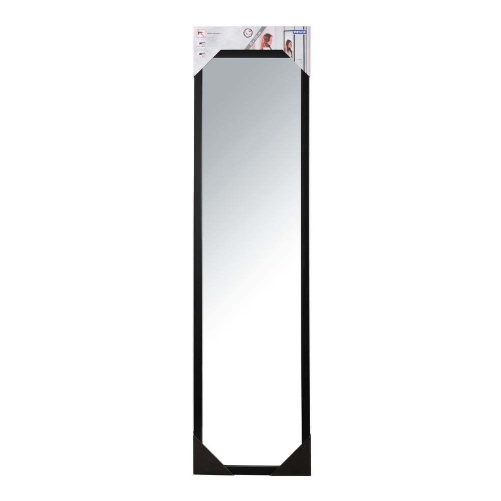 1438c71b8 Čierne závesné zrkadlo na dvere Wenko Home, výška 120 cm | TopByvanie.sk