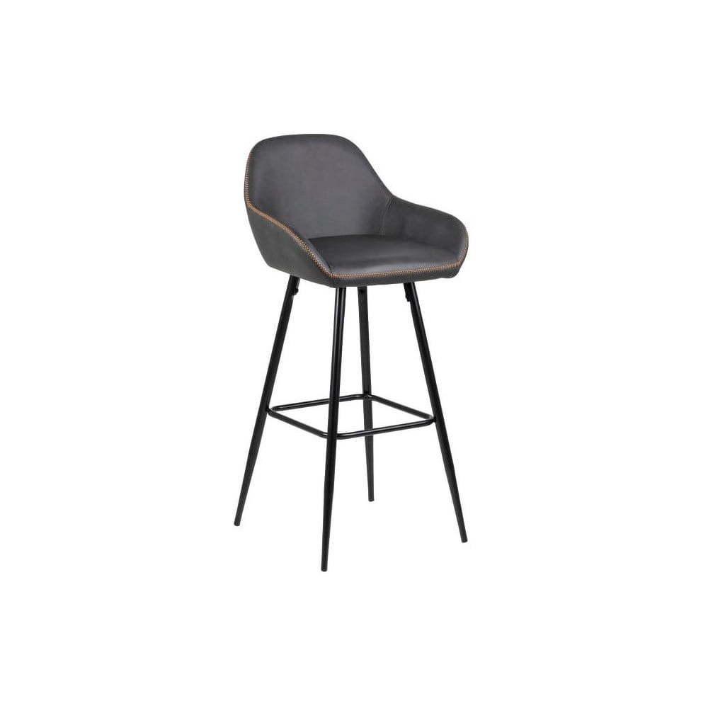 ced75c89bb74 Sada 2 béžovosivých barových stoličiek Actona Candis