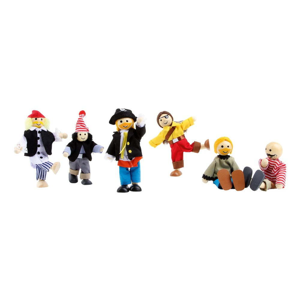 Sada drevených hračiek Legler Pirates
