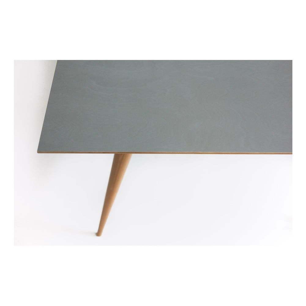 Žltý jedálenský stôl Ragaba Planet Rectangular
