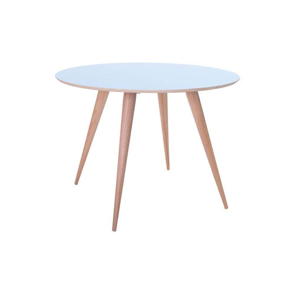 Žltý jedálenský stôl Ragaba Planet Round