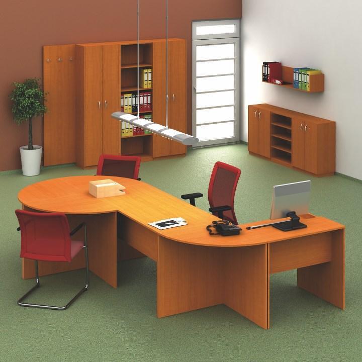 Písací stôl 150, čerešňa, TEMPO AS NEW 020 PI