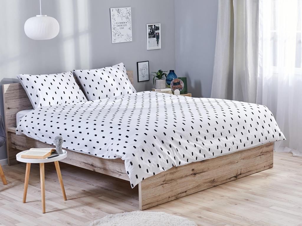 Posteľné obliečky Dormeo Sleep&Inspire, 140x200 cm, broskyňová