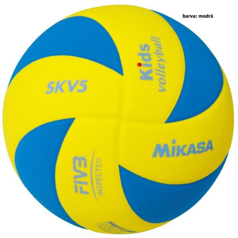 Volejbalová lopta MIKASA Kids SKV5 - modrá