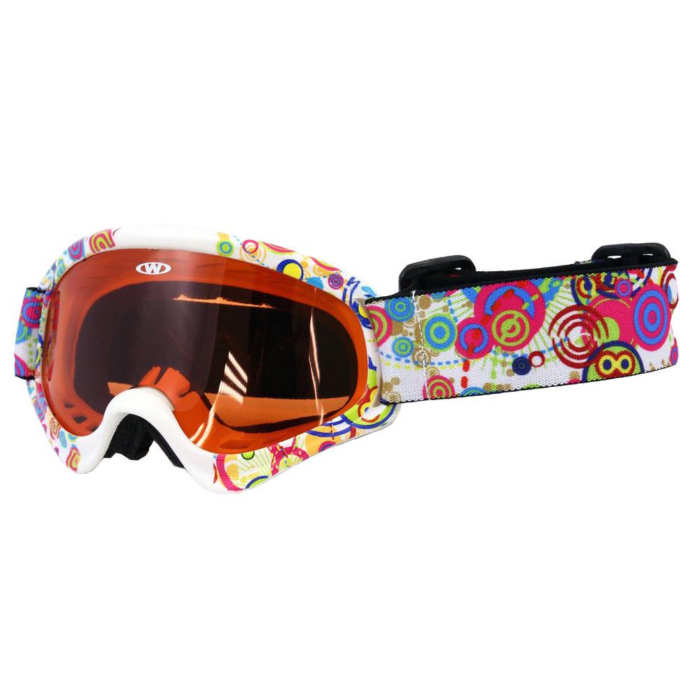 Detské lyžiarske okuliare WORKER Sterling s grafikou  bd19206eb54