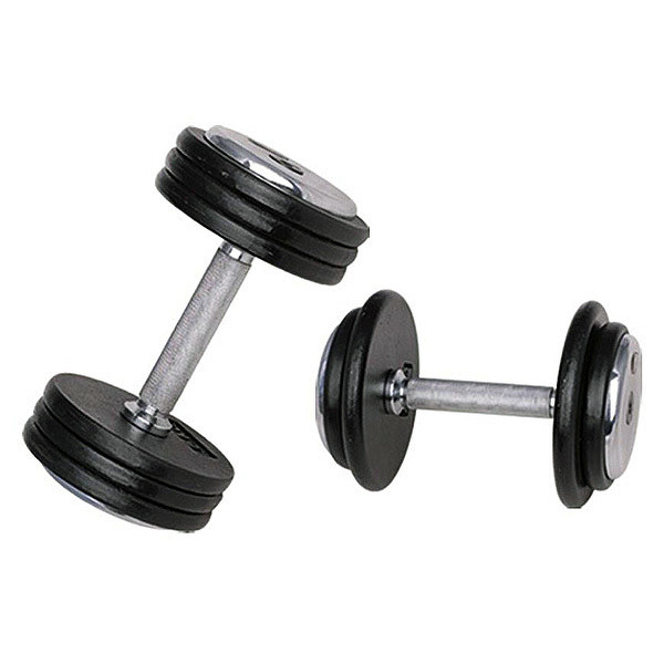 Jednoručná činka inSPORTline ProfiST 40 kg