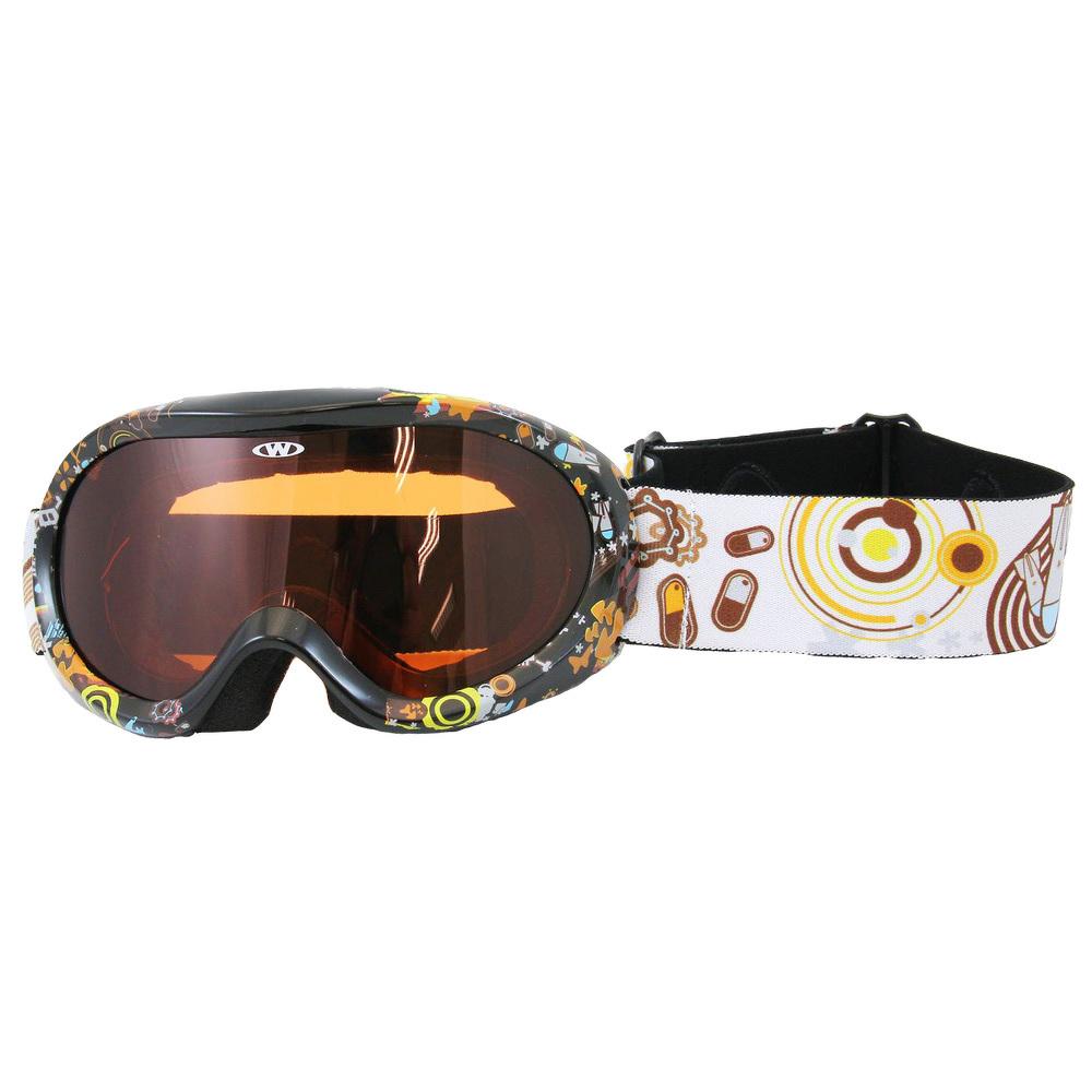 fb557e57b Junior lyžiarske okuliare WORKER Doyle s grafikou | TopByvanie.sk