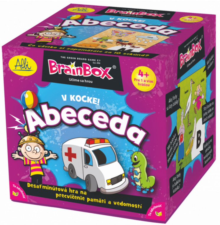 ALBI BrainBox v kocke! ABECEDA 011299