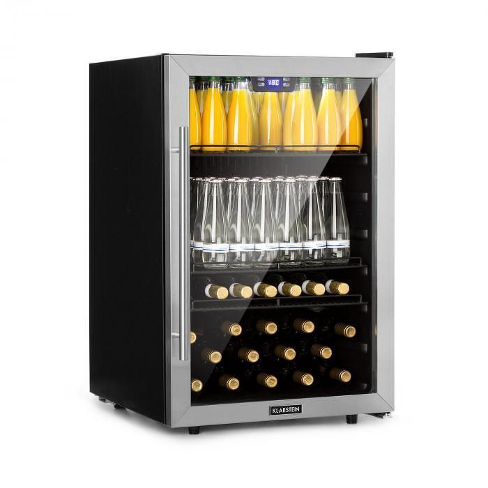 Klarstein Beersafe XXL, chladnička na nápoje, 148 l, A+, sklo, ušľachtilá oceľ