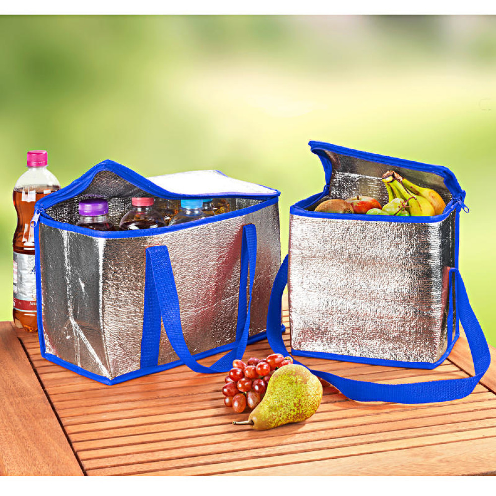 Magnet 3Pagen 2 chladiace tašky, modrá