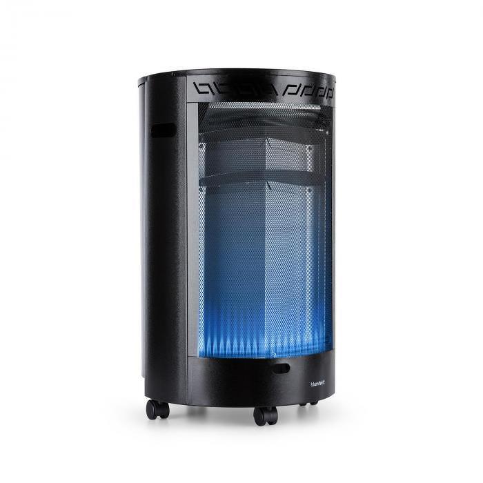 Blumfeldt Bonaparte Fire, plynové kachle, 4200 W, ODS systém, čierne