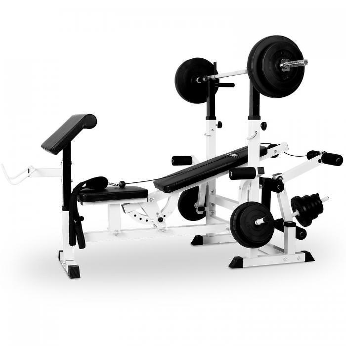 Klarfit posilňovacia lavica, bench press