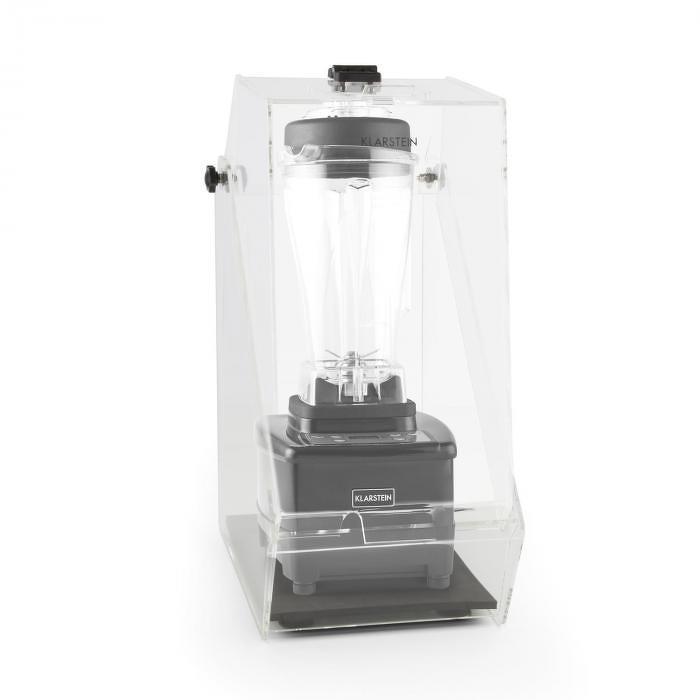 Klarstein Herakles 4G, čierny, stolný mixér, s krytom, 1500 W, 2,0 k, 2 litre, bez BPA