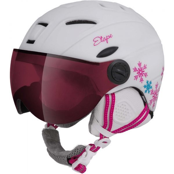 36930d5a5 Etape RIDER PRO - Detská lyžiarska prilba so štítom | TopByvanie.sk