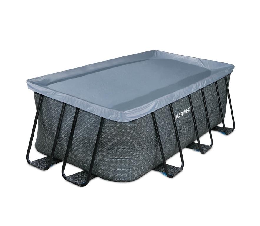 Krycia plachta pre bazény Florida Premium 2,15 x 4,00 m - motív RATAN