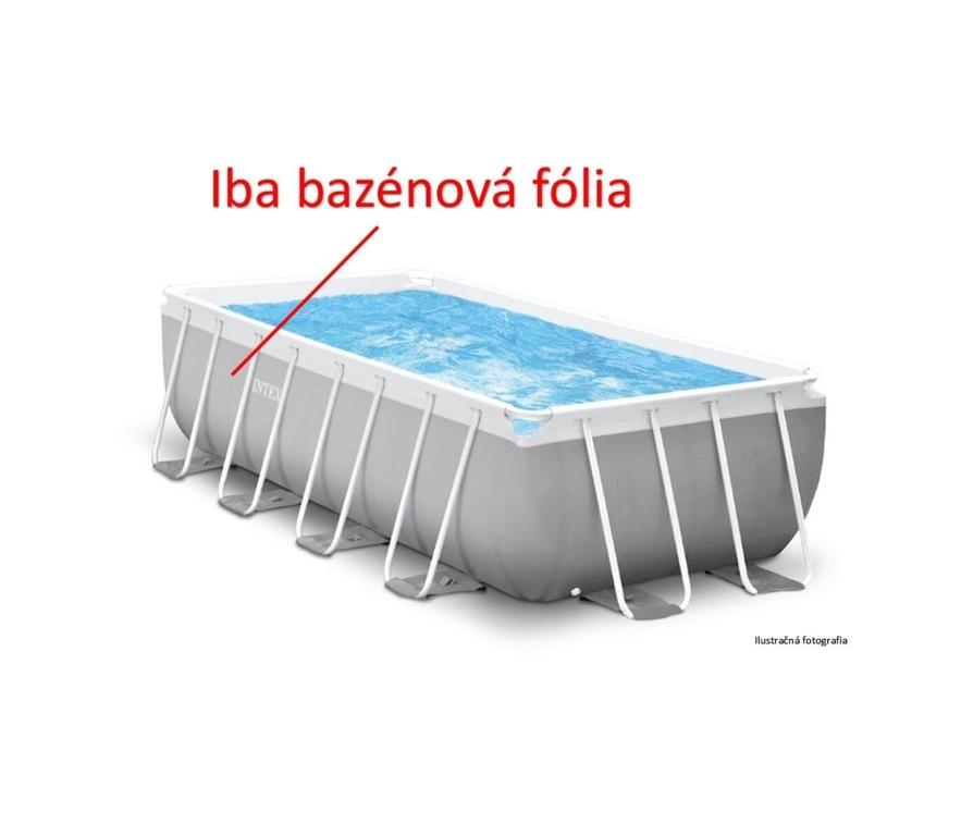 Náhradná fólia pre bazén Tahiti/Florida Premium 2,0 x 4,0 x 1,0 m