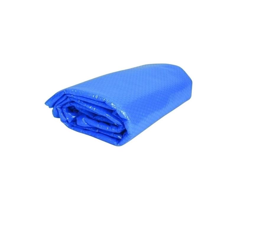 Solárna plachta modrá pre bazény s Ø hladiny 1,95 m