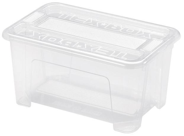 86f1097dc heidrun Plastový úložný box s vekom HEIDRUN TexBox 4,5l | TopByvanie.sk